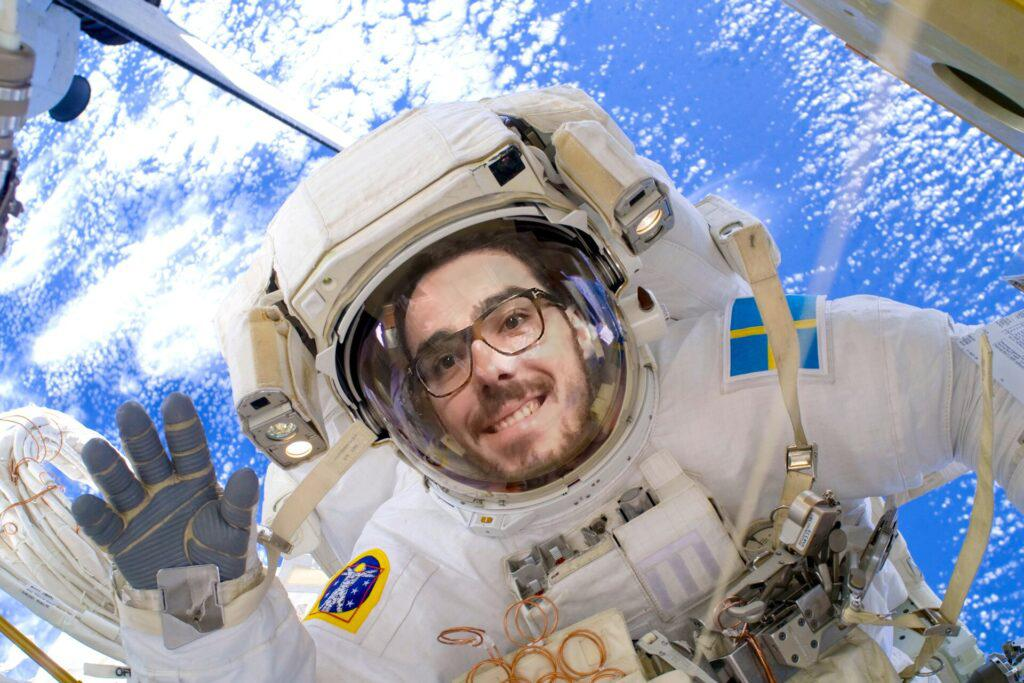 Romain astronaute